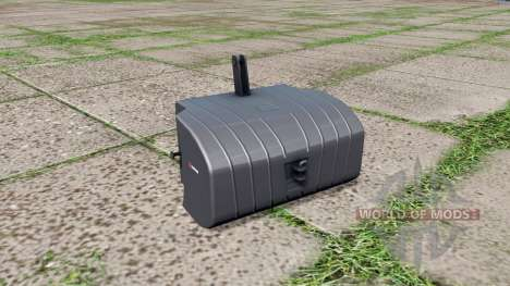 Saphir front weight for Farming Simulator 2017