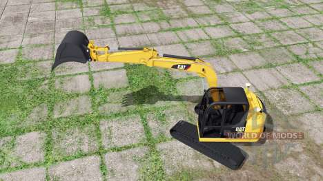 Caterpillar 307E2 for Farming Simulator 2017