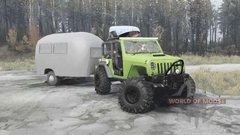 Jeep Wrangler Rubicon (JK) for Spintires MudRunner