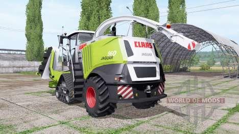 CLAAS Jaguar 960 RowTrac v3.1 for Farming Simulator 2017