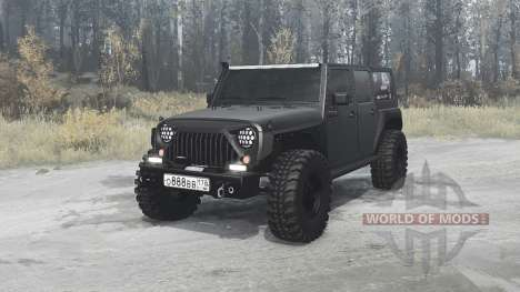 Jeep Wrangler Unlimited Rubicon (JK) off-road for Spintires MudRunner