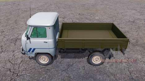 UAZ 33036 v2.1 for Farming Simulator 2013