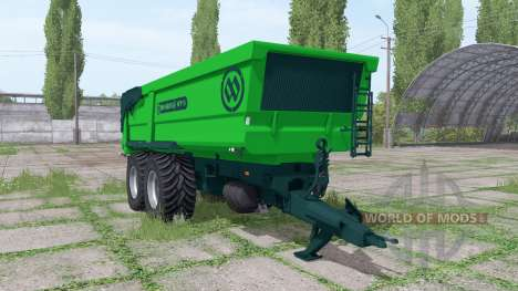 Miedema MT 15 for Farming Simulator 2017