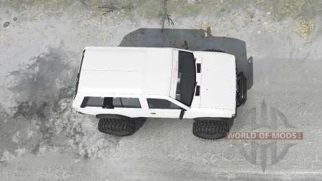 Nissan Terrano R3M 4-door (YD21) 1989 for Spintires MudRunner