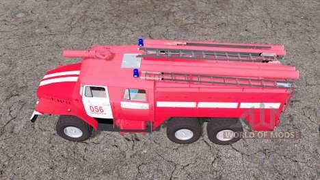 Ural 5557 ATS-5.5-40 for Farming Simulator 2015