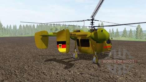 Ka 26 camo for Farming Simulator 2017