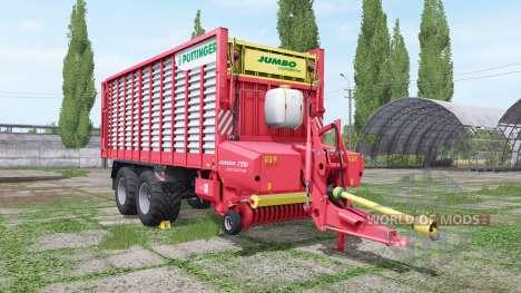 POTTINGER JUMBO 7210 combiline for Farming Simulator 2017
