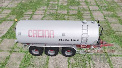 Creina CVC 25000 TRI for Farming Simulator 2017