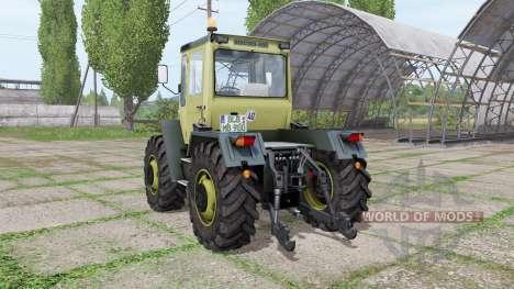 Mercedes-Benz Trac 900 Turbo by Röbi Modding for Farming Simulator 2017