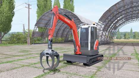 Kubota KX71-3 for Farming Simulator 2017