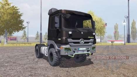 Mercedes-Benz Actros (MP3) for Farming Simulator 2013