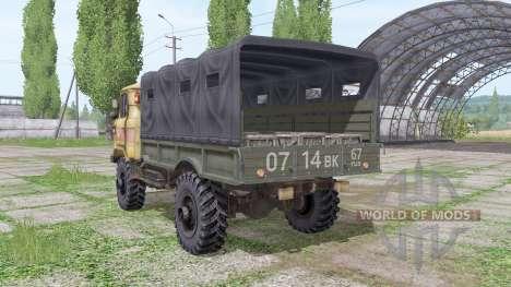 GAZ 66 v1.6.2 for Farming Simulator 2017