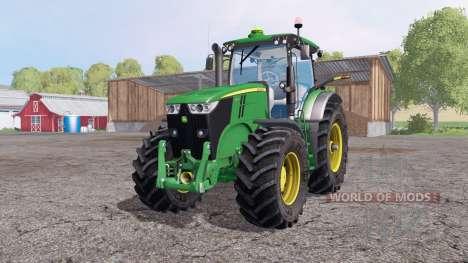 Jоhn Deere 7200R for Farming Simulator 2015
