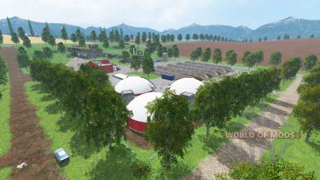 New Westbridge Hills for Farming Simulator 2015
