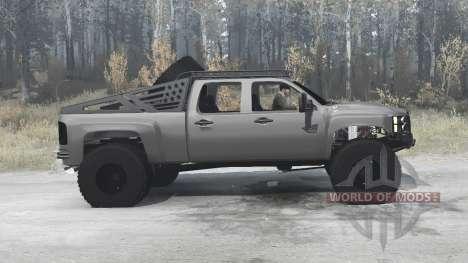 Chevrolet Silverado 2500 HD Crew Cab (GMT911) for Spintires MudRunner
