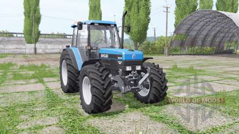 New Holland 8340 v3.0 for Farming Simulator 2017