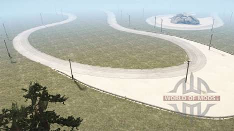 F1 Race Track for Spintires MudRunner