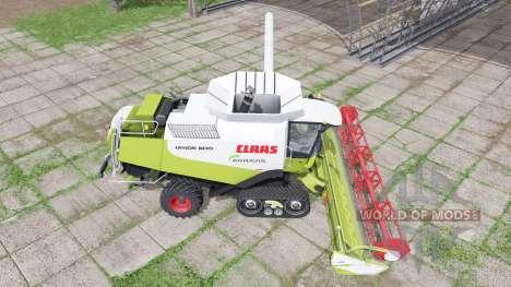 CLAAS Lexion 600 TerraTrac v2.0 for Farming Simulator 2017