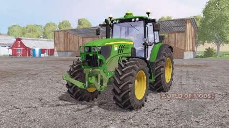 John Deere 6140M front loader for Farming Simulator 2015
