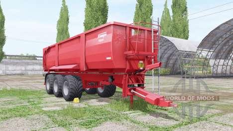 Krampe Big Body 900 for Farming Simulator 2017