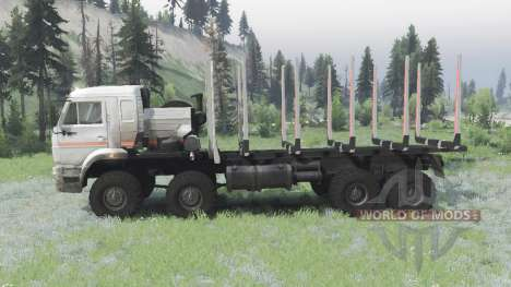 KAMAZ 6560-3198-43 for Spin Tires