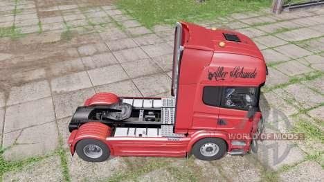 Scania R730 Topline 2010 for Farming Simulator 2017