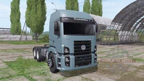 Volkswagen Constellation 25-370 2006 for Farming Simulator 2017