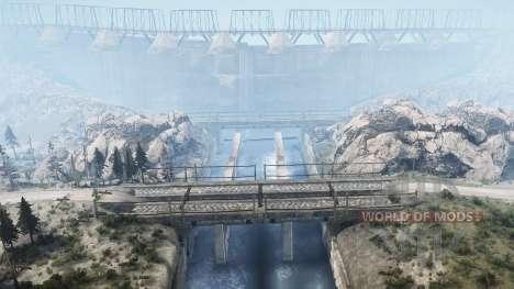 Lancang Dam for Spintires MudRunner