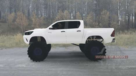 Toyota Hilux Double Cab 2016 for Spintires MudRunner