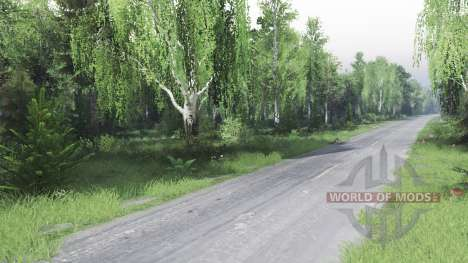 Forest 2 for Spin Tires