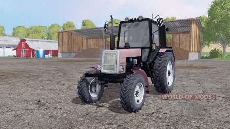 MTZ-Belarus 1025 4x4 for Farming Simulator 2015