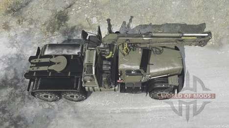 KrAZ 258Б Phantom for Spintires MudRunner