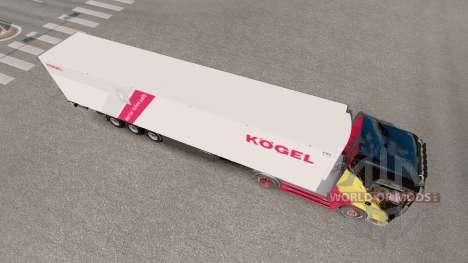 Trailer Kogel Cool for Euro Truck Simulator 2