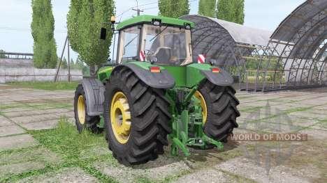 John Deere 8520 v3.0 for Farming Simulator 2017
