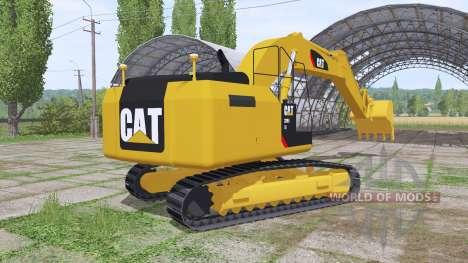 Caterpillar 329E v1.2 for Farming Simulator 2017