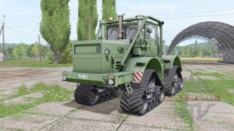 Kirovets K 700A QuadTrac v2.2 for Farming Simulator 2017