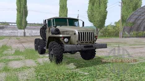 Ural 4420 1980 for Farming Simulator 2017