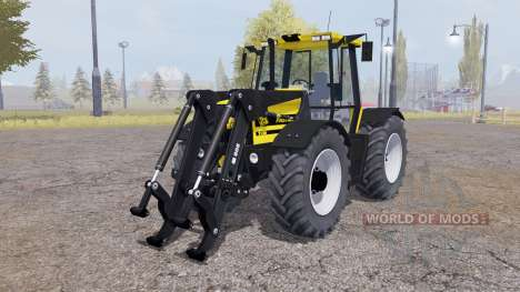 JCB Fastrac 2150 front loader v1.1 for Farming Simulator 2013