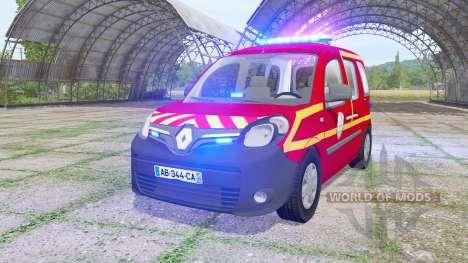 Renault Kangoo Extrem 2013 Sapeurs-Pompiers for Farming Simulator 2017