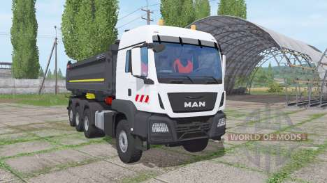 MAN TGS 35.500 8x8 BL Meiller 2016 for Farming Simulator 2017