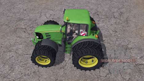 John Deere 7530 Premium twin wheels for Farming Simulator 2013