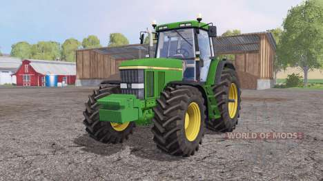 John Deere 7810 weight for Farming Simulator 2015