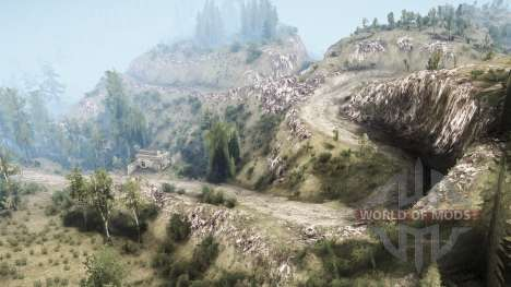 La Luna 5 - The valley for Spintires MudRunner