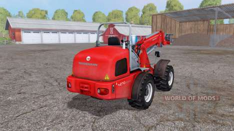 Weidemann 4270 CX 100T v3.0 for Farming Simulator 2015