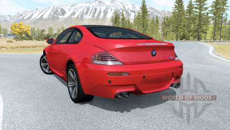 BMW M6 Coupe (E63) 2010 for BeamNG Drive