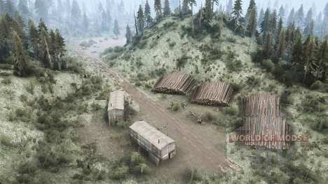 Many rivers for Spintires MudRunner