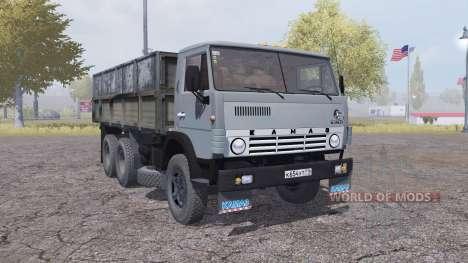 KamAZ 55102 for Farming Simulator 2013