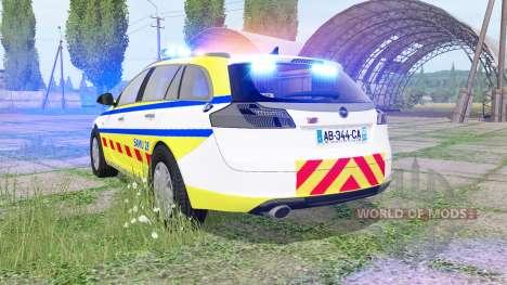 Opel Insignia Sports Tourer 2008 SAMU for Farming Simulator 2017