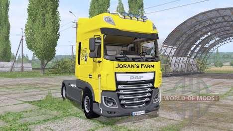 DAF XF 510 FT Super Space Cab 2013 for Farming Simulator 2017
