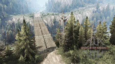 Bloody pass for Spintires MudRunner
